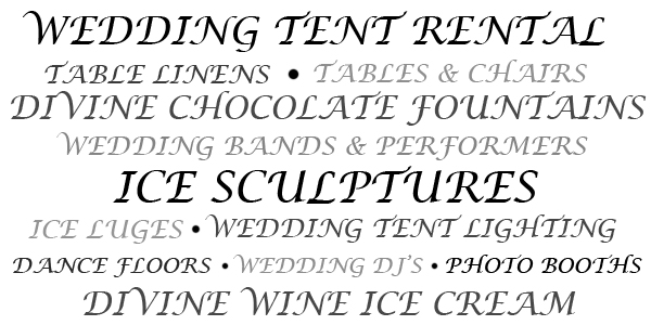 About Buffalo Wedding Tents